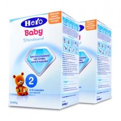 荷兰原装 Hero baby 美素奶粉2段 800g(6~10个月) 800g