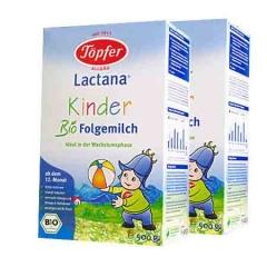 德国原装 Topfer 特福芬有机奶粉1+段 500g(1岁以上) 500g