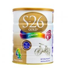 惠氏金装婴儿牛奶粉4段 900g(3-6周岁宝宝) 900g