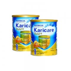 新西兰可瑞康Karicare进口婴幼儿营养奶粉1段(0-6个月)保税仓直邮 900g*2