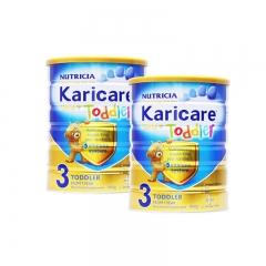 新西兰可瑞康Karicare进口婴幼儿营养奶粉3段保税直邮2罐包邮 900g*2