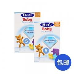 荷兰美素friso HeroBaby进口婴幼儿营养奶粉5段(2周岁以上) 两罐包邮 700g*2