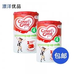 英国牛栏4段奶粉( 2-3岁)保税仓直邮两罐包邮 800g*2