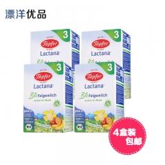 Topfer德国特福芬 婴幼儿有机奶粉3段(10个月以上) ¥600g/盒(4盒装)包邮 600g*