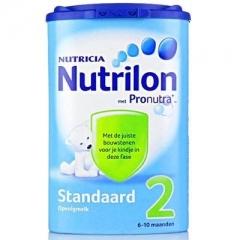 保税仓直邮荷兰本土牛栏2段宝宝奶粉 Nutrilon正品(适合6-10个月)850g 2段850g*