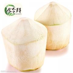 【食令鲜】泰国椰青4个|单个约1kg 进口去皮椰子椰青新鲜水果