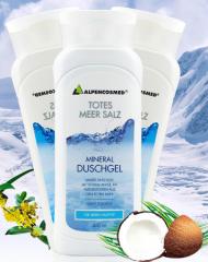 德国ALPENCOSMED阿尔贝丝死海海盐矿物质沐浴露 适合所有及敏感肤 250ml